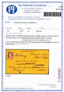 CertificateCumberland
